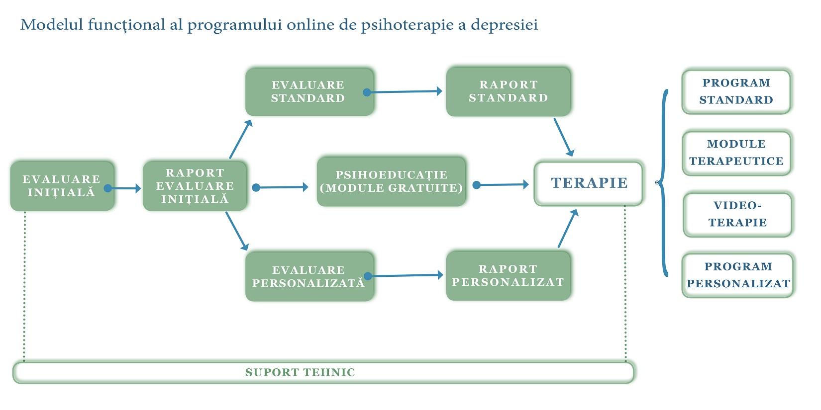 Figura cu facilitatile DEPRETER pentru pacienti